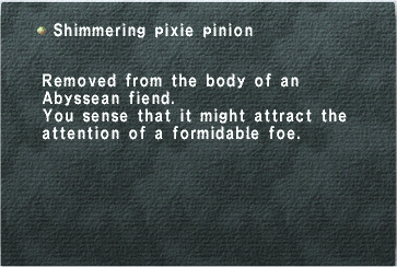 Shimmering Pixie Pinion