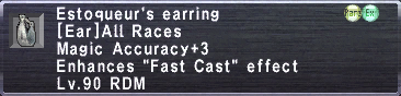 Estoqueur's Earring