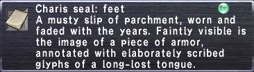 Charis Seal Feet