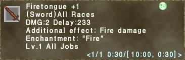 Firetongue +1