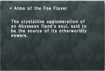 Atma of the Foe Flayer