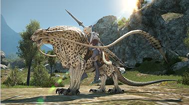 final fantasy 14 how to get behemoth mount