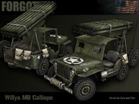 Willys MB Calliope