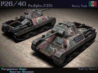 Carro Armato P2640