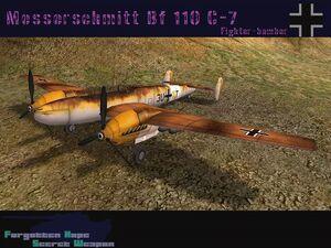 Messerschmitt Bf 110 C-7