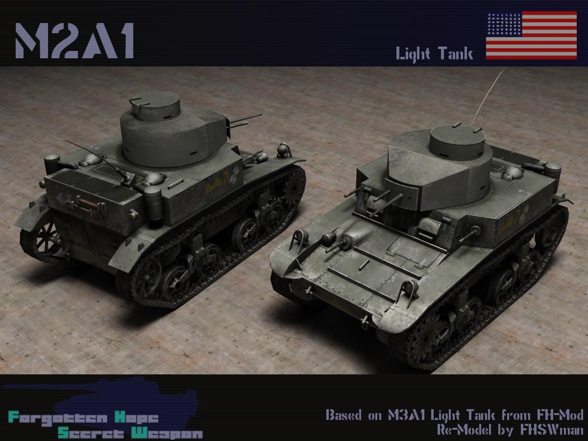 m2 light tank forgotten hope secret weapon wiki fandom