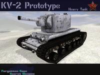 KV-2 Prototype