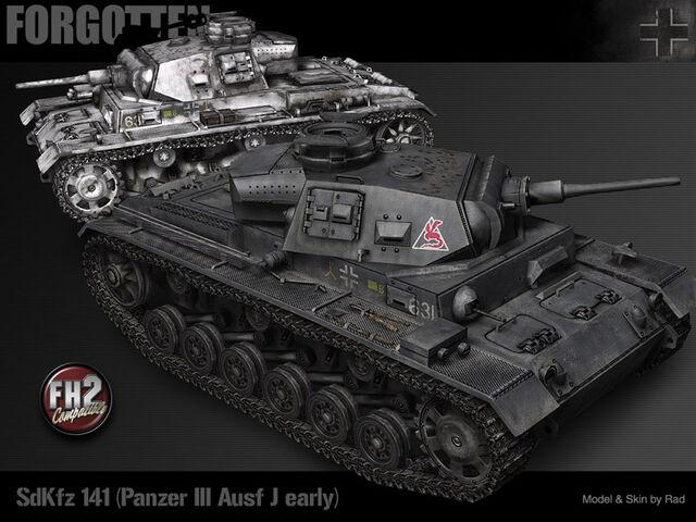File:Panzer III Ausf. J early.jpg