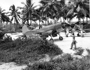 W2 f4u-1 usmc esperitu-santa mar1944