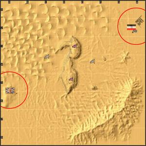Desert Hill minimap