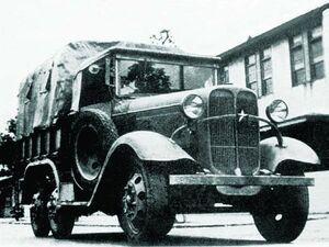 Isuzu Type-94À TU10 6x6 1934