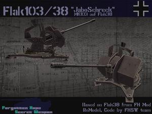 3 cm Flak 103-38 Jaboschreck