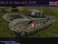Churchill AVRE