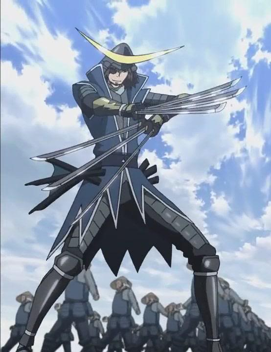 Anime Characters Use Dual Swords : Date masamune fiction wrestling multiverse wiki fandom
