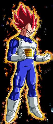 File:Super Saiyan God Vegeta Dragon Ball Z.png