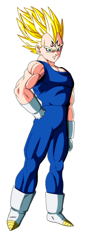 Majin Vegeta Dragon Ball Z