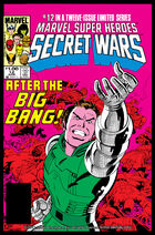 Secret Wars Cover Issue 12