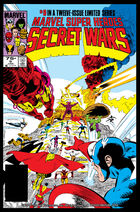 Secret Wars Cover Issue 9
