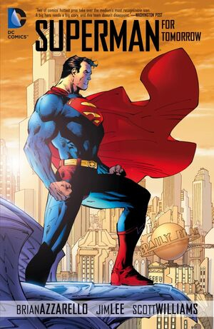 Superman For Tomorrow Issue 1 Cover