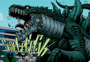 Zilla Godzilla Rulers of Earth