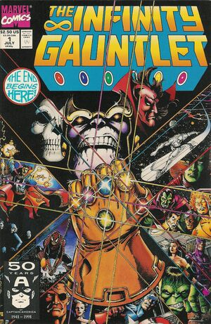The Infinity Gauntlet Issue 1 Cover