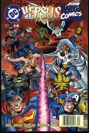 DC Vs Marvel Comics Issue 4 Cover