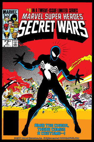 Secret Wars Cover Issue 8
