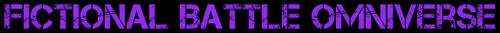 Official Fictional Battle Omniverse Logo