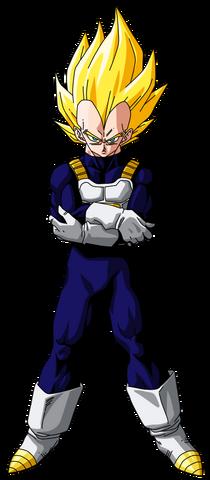 File:Super Saiyan Vegeta Dragon Ball Z.png
