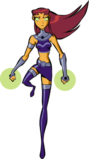 Starfire Teen Titans