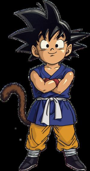 Kid Goku Dragon Ball GT