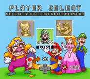 Excitebike Mario 1 chars