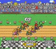 Excitebike Mario 4 Koopas