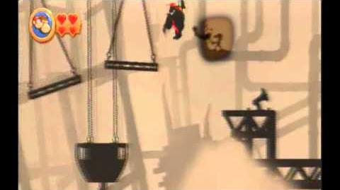 Mr Game & Watch in Donkey Kong Country Returns