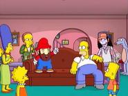 Simpsons Game Mario