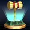 SSBB Trophy 507 Golden Hammer