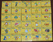 Super Mario World Barcode Battler Cards
