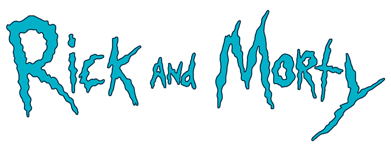 Image result for rick and morty logo png