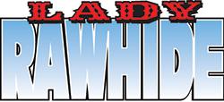 A lady rawhide logo