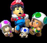 NintendoLand MarioChase characters