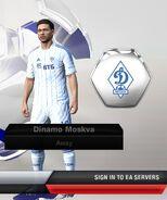 Dinamo away