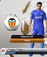 54. valencia away