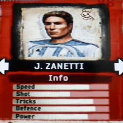 FIFA Street 2 J. Zanetti