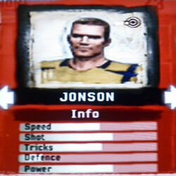 FIFA Street 2 Jonson