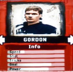 FIFA Street 2 Gordon