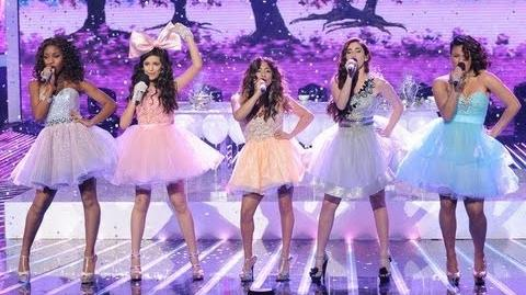 """Fifth Harmony """"Anything Could Happen"""" - Live Week 7 Semifinal - The X Factor USA 2012"""