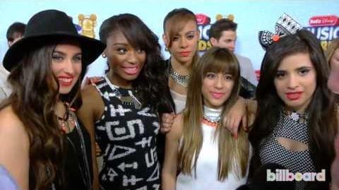 Fifth Harmony Radio Disney Awards Red Carpet (2013)