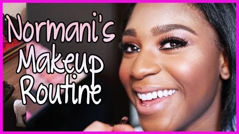 Fifth Harmony - Normani's MakeUp Routine - Fifth Harmony Takeover Ep