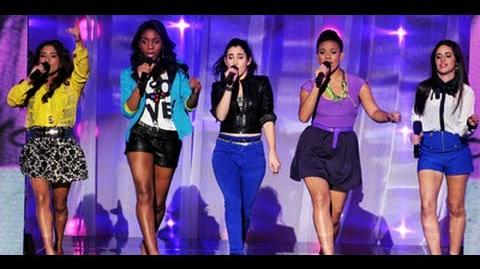 "Fifth Harmony ""We Are Never Ever Getting Back Together"" - Live Week 1 - The X Factor USA 2012"