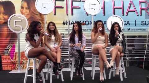 Fifth Harmony answering questions